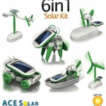 92% off 6-in-1 Solar-Powered Educational Robotic Kit With 6 Models! Was $59.99 now $4.99!