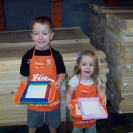 Our First Trip To A Home Depot Kid's Workshop!