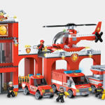 Mega Bloks Blok Squad Fire Patrol Station Review!
