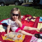 The Best Things In Life are FREE, or Close To It! Front Yard Picnic Fun!