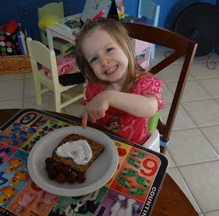 Valentine's Day French Toast Using Cinnamon Bread! Quick and Easy Recipe!