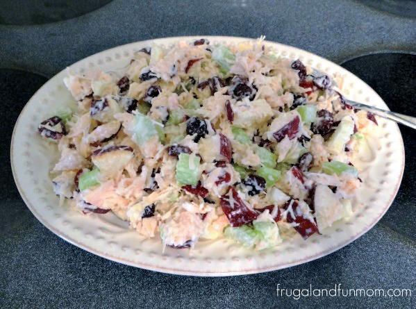 Apple Cranberry Chicken Salad 4