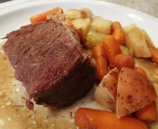 Crock Pot Chuck Roast Recipe! Made With Hearty Vegetables and Knorr Homestyle Stock!