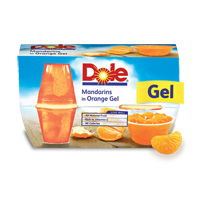 45¢ off when you buy any THREE packages of DOLE® Gels