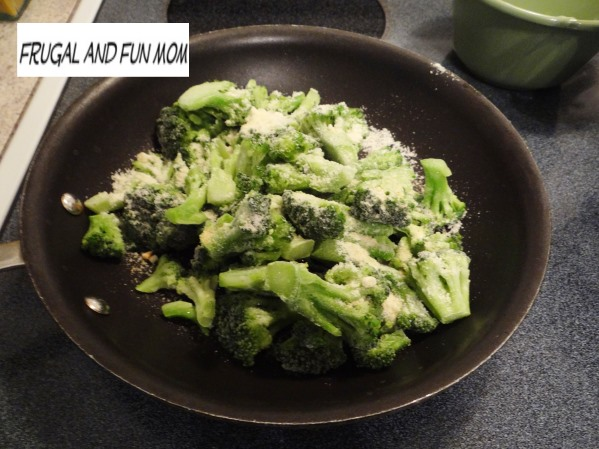 Parmesan Broccoli Recipe!  An Easy Spin On A Usual Side That My Kids Will Eat!