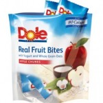 Dole Real Fruit Bites Review!  Only 80-90 Calories and a Source of Vitamin C.