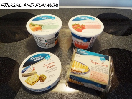 Review of Weight Watchers Cheese Products! Plus, Check Out The Grilled Veggie Pizza Recipe I Made!