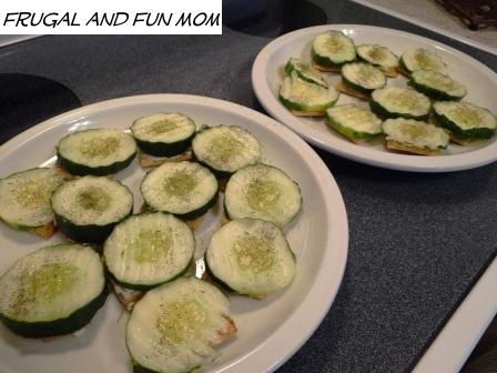 Cucumber and Triscuits 005