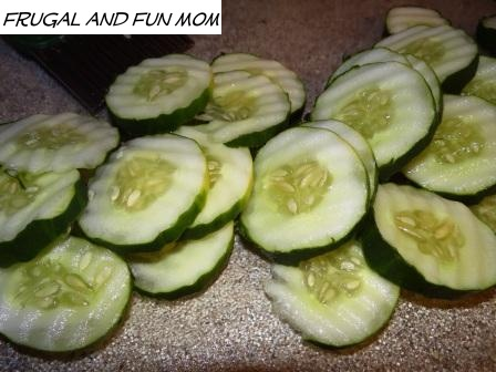 Cucumber and Triscuits 2