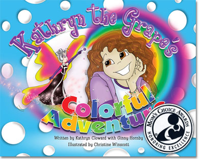 Kathryn The Grape's Colorful Adventure Book Review!  Plus, Prize Pack Giveaway!