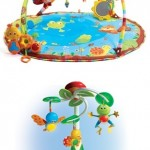 Review and Giveaway of Tiny Love My Nature Pals Mobile and Gymini! They Grow with Your Baby!