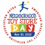 The 3rd Annual Neighborhood Toy Store Day is Saturday November 10, 2012! Shop Local For Unique Toys!
