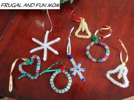 kit snowflake bead czech ornament fancy portfolio christmas beads kits homemade beaded ornaments