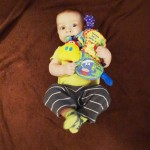 Review of the Nuby Flip Flop Teether Book!  Enter To Win One As Well!