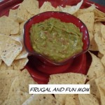 Guacamole Dip with Del Monte Petite Cut Diced Tomatoes with Chipotle Chilies Recipe!  Needs Only 3 Ingredients!