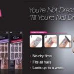 Influenster Holiday VoxBox 2012 Review of Kiss Nail Dress!