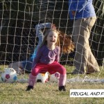 Little Miss and Her First Day of Soccer Practice!