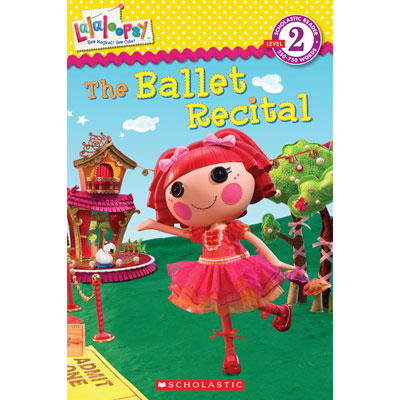 Lalaloopsy Book from Kelloggs