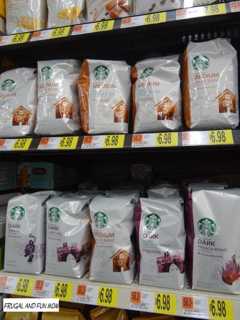 Starbucks Display at Walmart