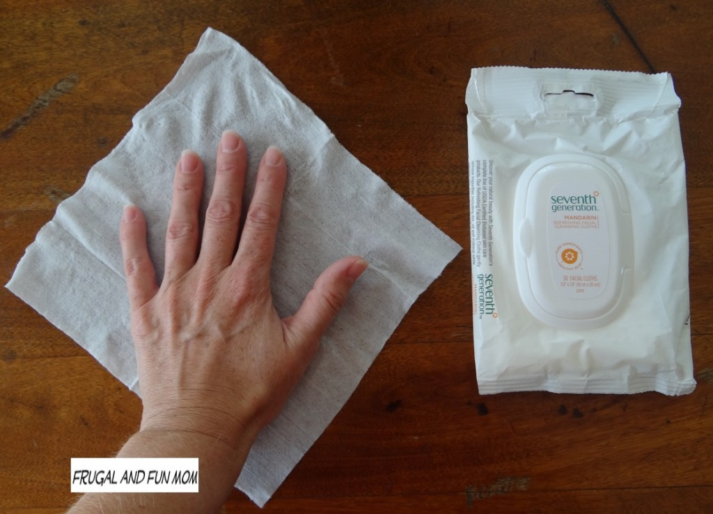 Seventh Generation Natural Product Face Wipes Good Size Mandarin