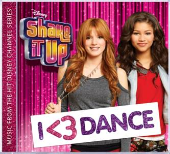 ShakeItUp CD I love dance