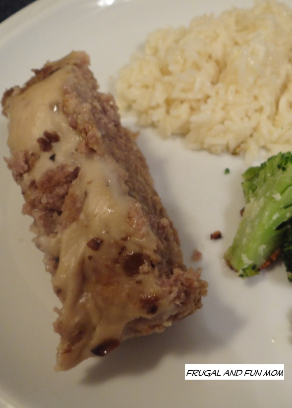 Cream of Mushroom Meatloaf
