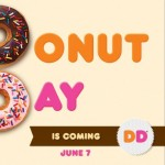 National Donut Day! FREE Donut With Beverage Purchase Friday June 7th, 2013 at Dunkin Donuts!