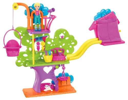 Polly Pocket Wall Party Tree House