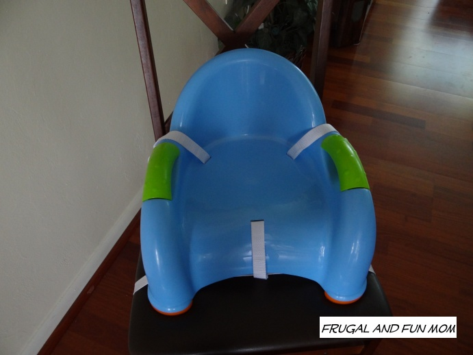 Front of Nuby Booster seat