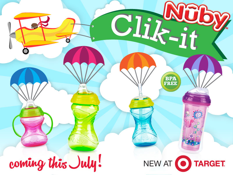Nuby Clik It Graphic with stages