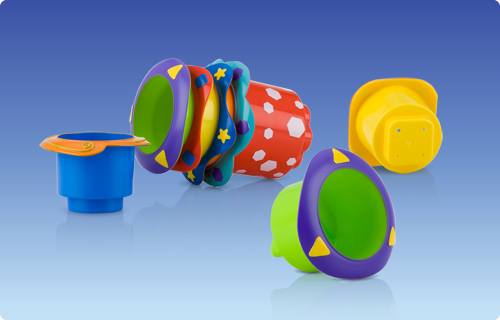 Splish Splash Stackable Cups Nuby Photo