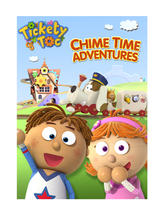 Chime Time Adventures DVD Tickety Toc