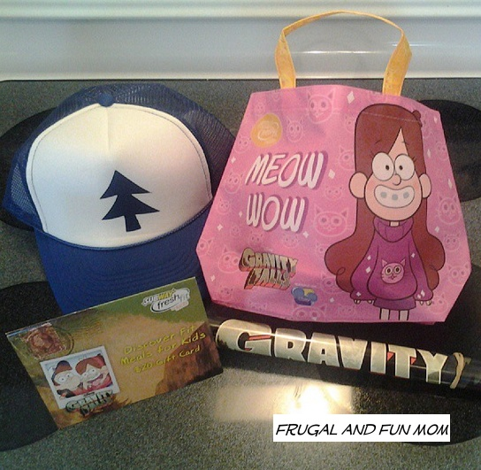 Gravity Falls Kids Meal at Subway