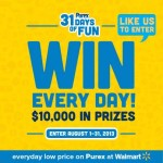 Purex 31 Days Of Fun with $10,000 in Prizes! Enter HERE for a $10 Amazon Gift Card Giveaway!