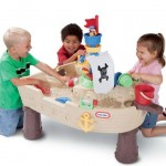 Anchors Away Pirate Ship Review and Giveaway! Play Time Made Fun With Water and Little Tikes!