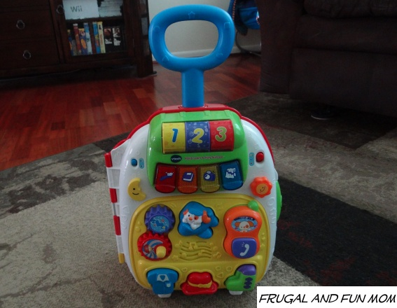 VTech Roll & Learn Activity Suitcase front view