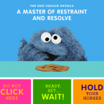 "Cookie Monster Stars In ""Cookie's Crumby Pictures"" A New Sesame Street Segment On Self-regulation For Preschoolers and School Readiness!"