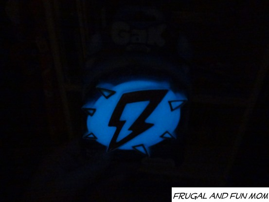 Glow in the dark gak in the closet