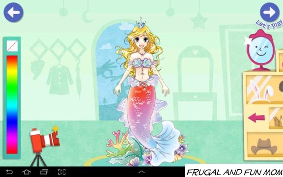 Mermaid in PlayTown