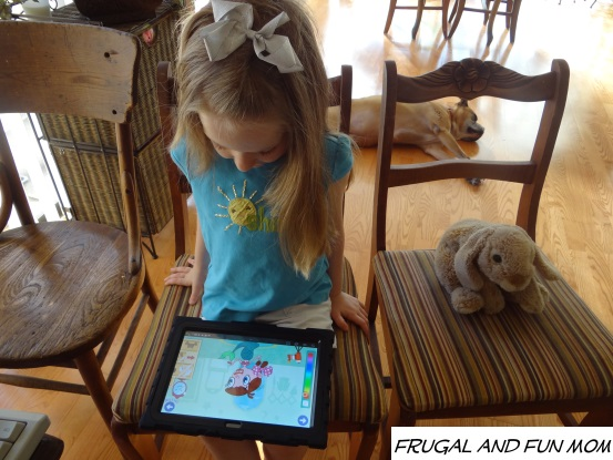 PlayTown My Story Maker App Creating Mermaid