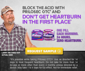FREE Sample Alert, Prilosec OTC! Just In Time for Holiday Food and Tailgating!