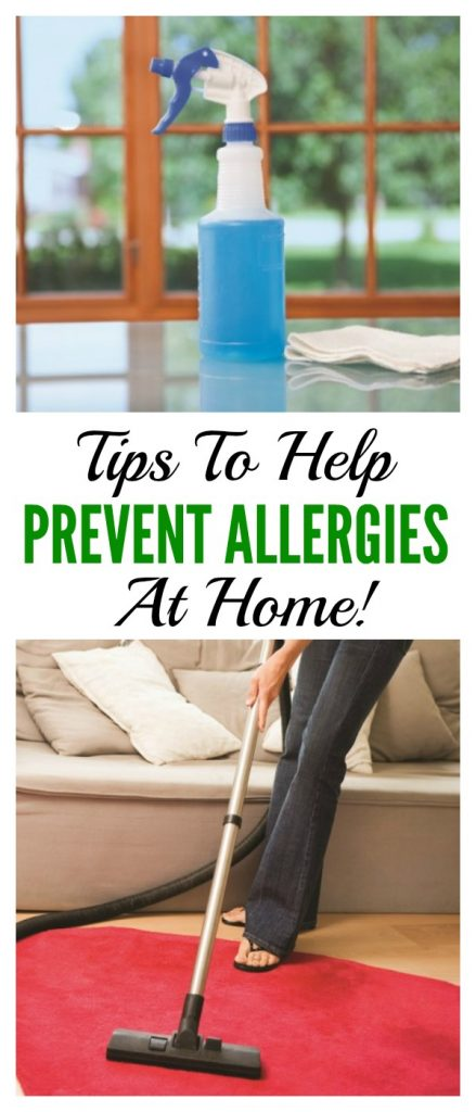 Allergy Proofing Your Home: Tips To Help Prevent Allergies at Home!