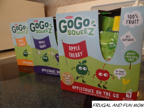 Varieties of gogo squeez