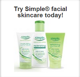 free sample of simple face products