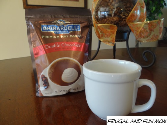 Double Chocolate Ghirardelli Hot Cocoa