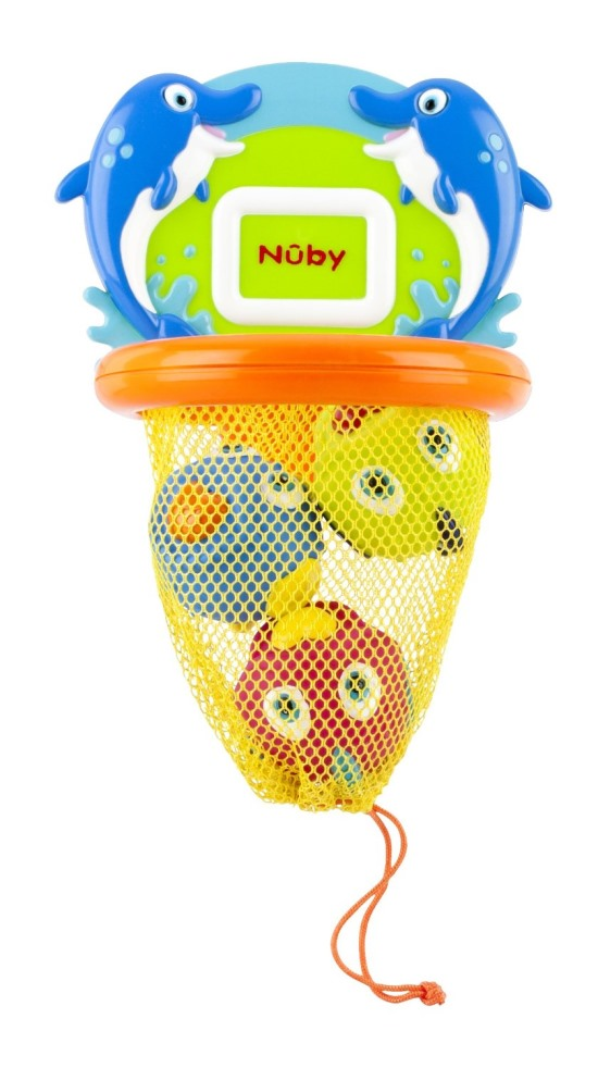 Fish Swoosh Toy Bathtime Nuby