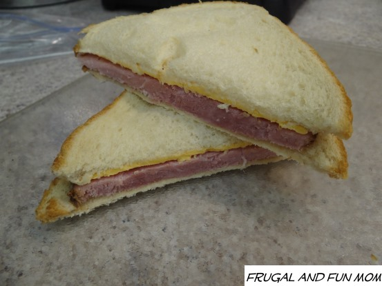 Kentucky Legend Boneless Ham Cheese Sandwich