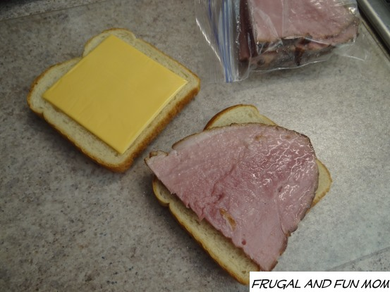 Kentucky Legend Boneless Ham Sandwich