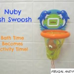 Review and Giveaway of the Nuby Fish Swoosh Bath Toy! Bath Time Becomes Activity Time!