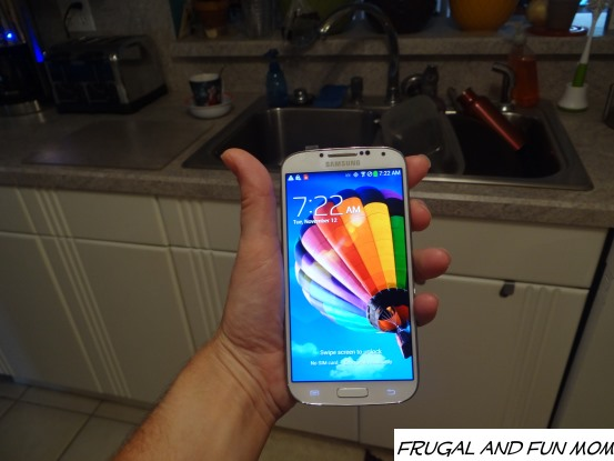 Samsung Galaxy S4 on